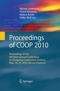 Proceedings of COOP 2010