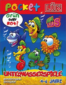 LÜK pocket. Spielblock Unterwasserspiele 1