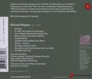 ESPRIT-Legendäre Dirigenten-Karajan/Parsifal