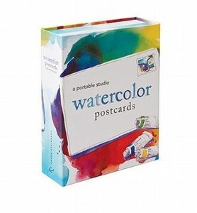 Watercolor Postcards: A Portable Studio [With 10 Postcards and P