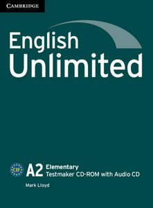 English Unlimited A2 - Elementary. Testmaker CD-ROM + Audio-CD