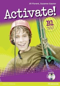 Activate! B1 Workbook with Key with CD-Rom Pack Version 2