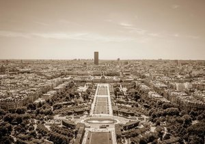 Paris (Tischaufsteller DIN A5 quer)