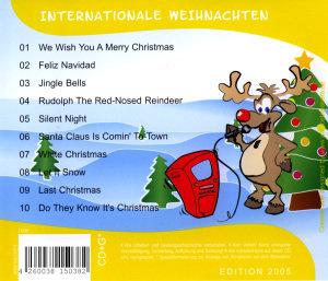 Karaoke CDG Traditionelle Weihnachten