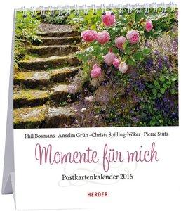 Momente für mich 2016 Postkartenkalender