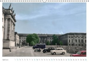 Berlin - Vintage Views (Wall Calendar 2016 DIN A3 Landscape)