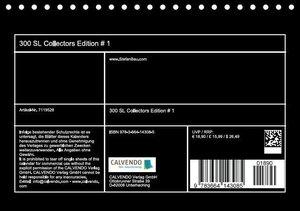 300 SL Collectors Edition # 1 (Tischkalender 2016 DIN A5 quer)