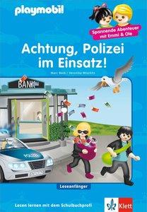 PLAYMOBIL Achtung, Polizei im Einsatz!