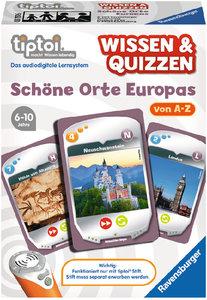 Ravensburger 00751 - tiptoi® Wissen & Quizzen: Schöne Orte Europ