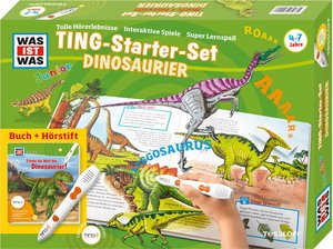 Was ist was Ting-Starter-Set Dinosaurier. Kinderbuch Dinos und H