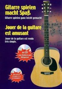 Gitarre spielen macht Spaß-Jouer de la guitare