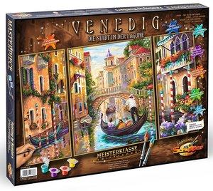 Schipper 609260736 - Malen nach Zahlen - Venedig, Die Stadt in d