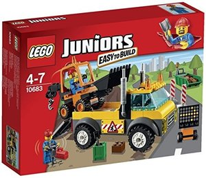 LEGO® Juniors 10683 - Strassenbau-Lastwagen