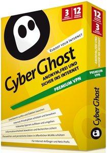CyberGhost Premium VPN 12 Monate (3 Platz)