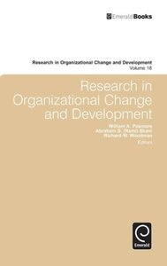 Research in Organizational Change and Development, Volume 18