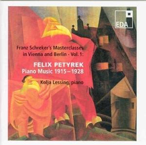 Franz Schreker's Masterclasses in Vienna/Berlin 1