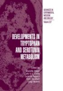 Developments in Tryptophan and Serotonin Metabolism
