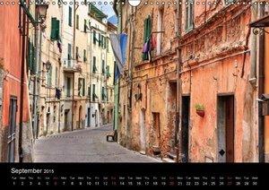 Liguria - Italian Riviera (Wall Calendar 2015 DIN A3 Landscape)