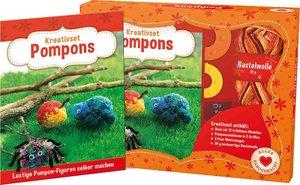 Kreativset Pompons - Lustige Pompon-Figuren selber machen