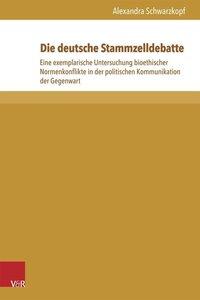 Die deutsche Stammzelldebatte