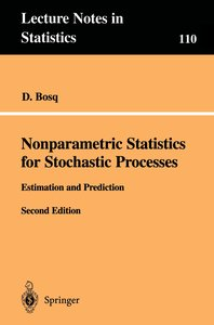 Nonparametric Statistics for Stochastic Processes