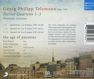 Pariser Quartette 1-3