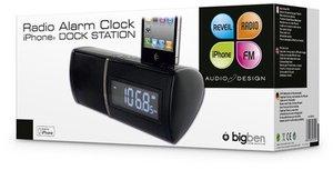 Radiowecker / Dock Station RRSE3 für iPhone®, schwarz