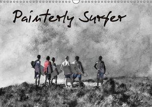 Painterly Surfer (Wall Calendar 2015 DIN A3 Landscape)
