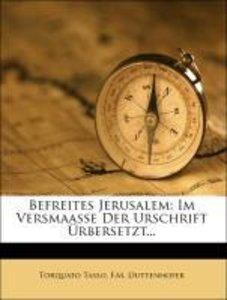 Befreites Jerusalem: erstes Baendchen