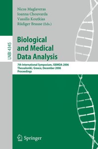 Biological and Medical Data Analysis