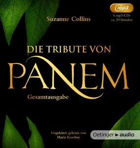 Die Tribute von Panem 1-3 Gesamtausgabe (6 mp3CD)