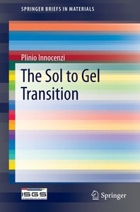 The Sol to Gel Transition