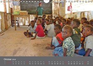 Die Kinder von Papua Neuguinea (Wandkalender 2016 DIN A4 quer)