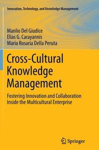 Cross-Cultural Knowledge Management