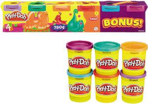 Play-Doh 6er Pack Neonfarben