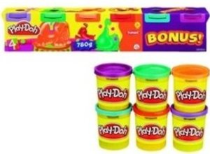 Play-Doh 6er Pack Neonfarben