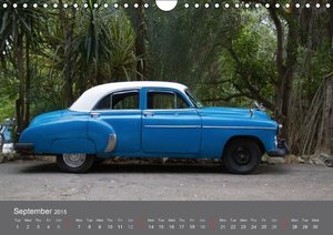Late Glory - Classic Cars on Cuba (Wall Calendar 2015 DIN A4 Lan