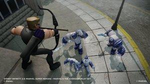 Disney Infinity 2.0 - Figur Hawkeye Marvel Super Heroes (2)