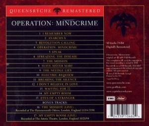 Operation:Mindcrime (Remastered)