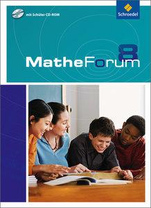 MatheForum 8. Schülerband mit CD-ROM. Niedersachsen
