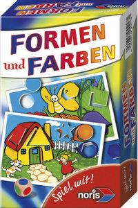 Noris 606094218 - Formen und Farben Kinderspiel, SPIEL MIT!
