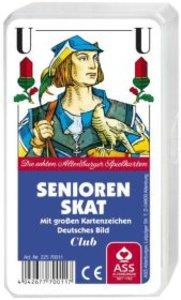 ASS Altenburger Spielkarten 70011 - Skat, Deutsches Bild, Senior