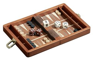 Philos 1301 - Backgammon Egina, mini, 15x11cm