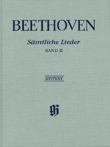 Sämtliche Lieder und Gesänge mit Klavier Band II