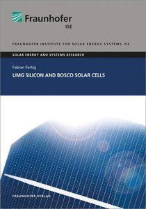 UMG Silicon and BOSCO Solar Cells.