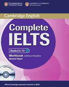 Complete IELTS. Advanced. Workbook without Answers with Audio CD