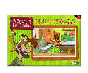 Pettersson Findus 100tlg. Puzzle Kinderzimmer