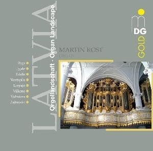 Orgellandschaften Lettland