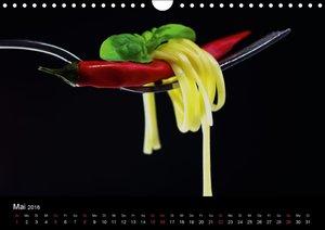 Pasta Kreationen (Wandkalender 2016 DIN A4 quer)