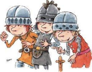Der kleine Ritter Eduard in der Schule